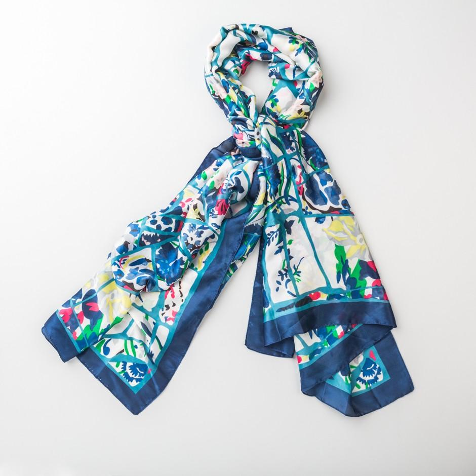 Pañuelo multi azul