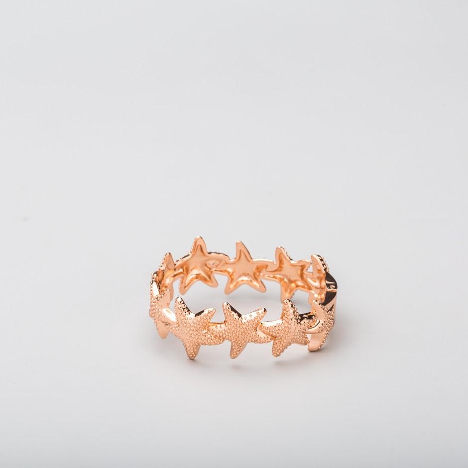 Brazalete estrellas rosado
