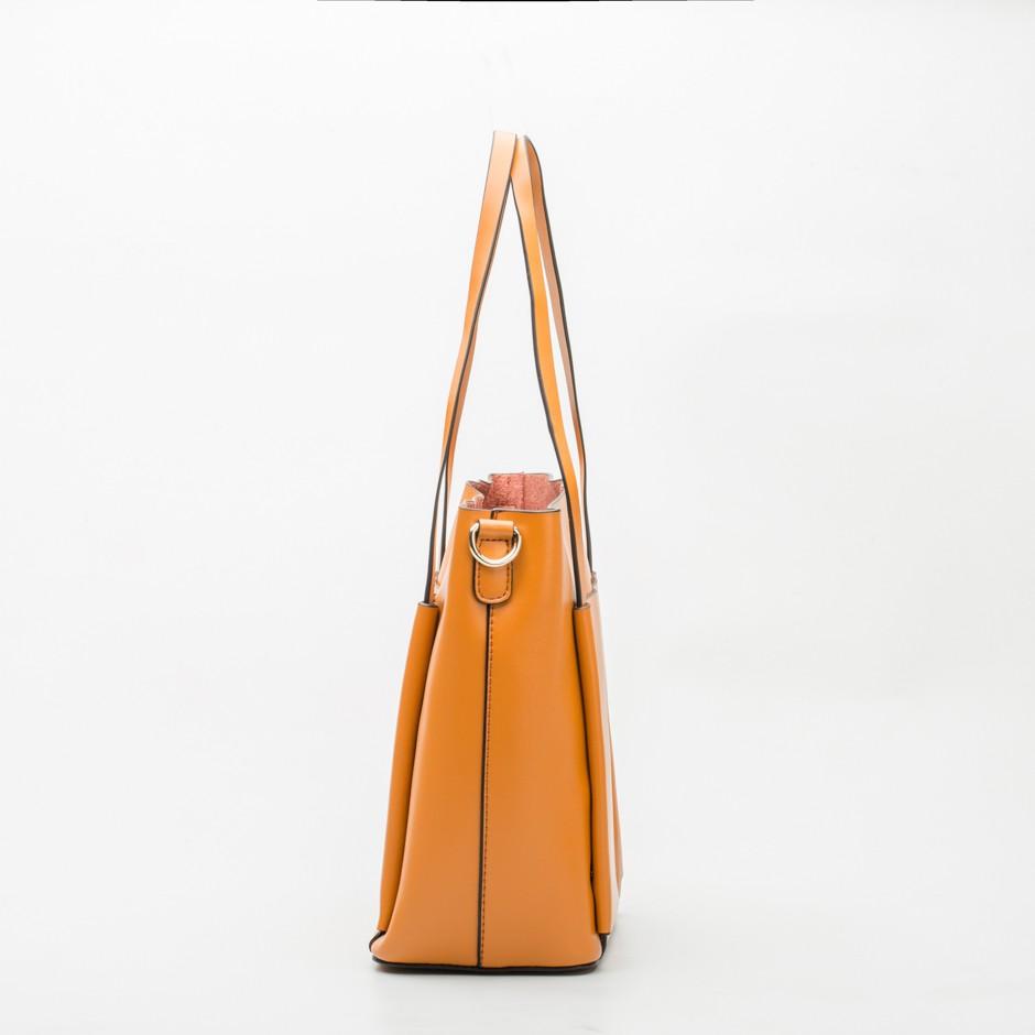 Bolso shopping mini camel