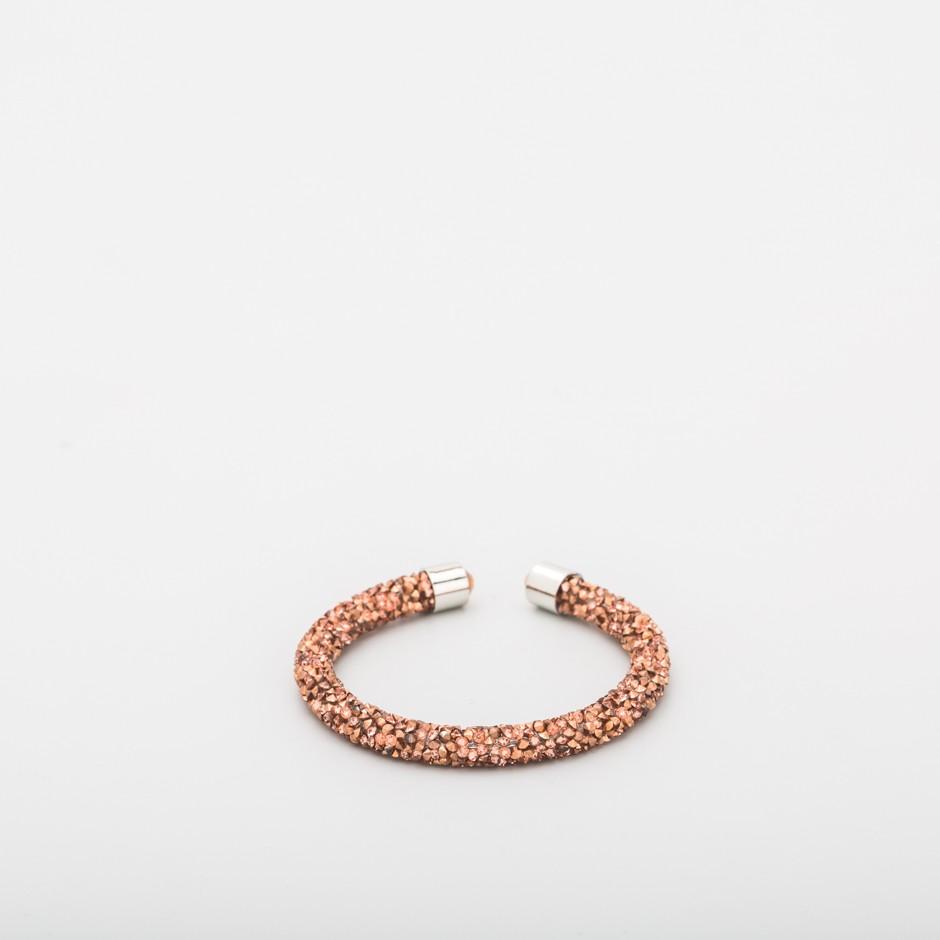 Brazalete strass cobre