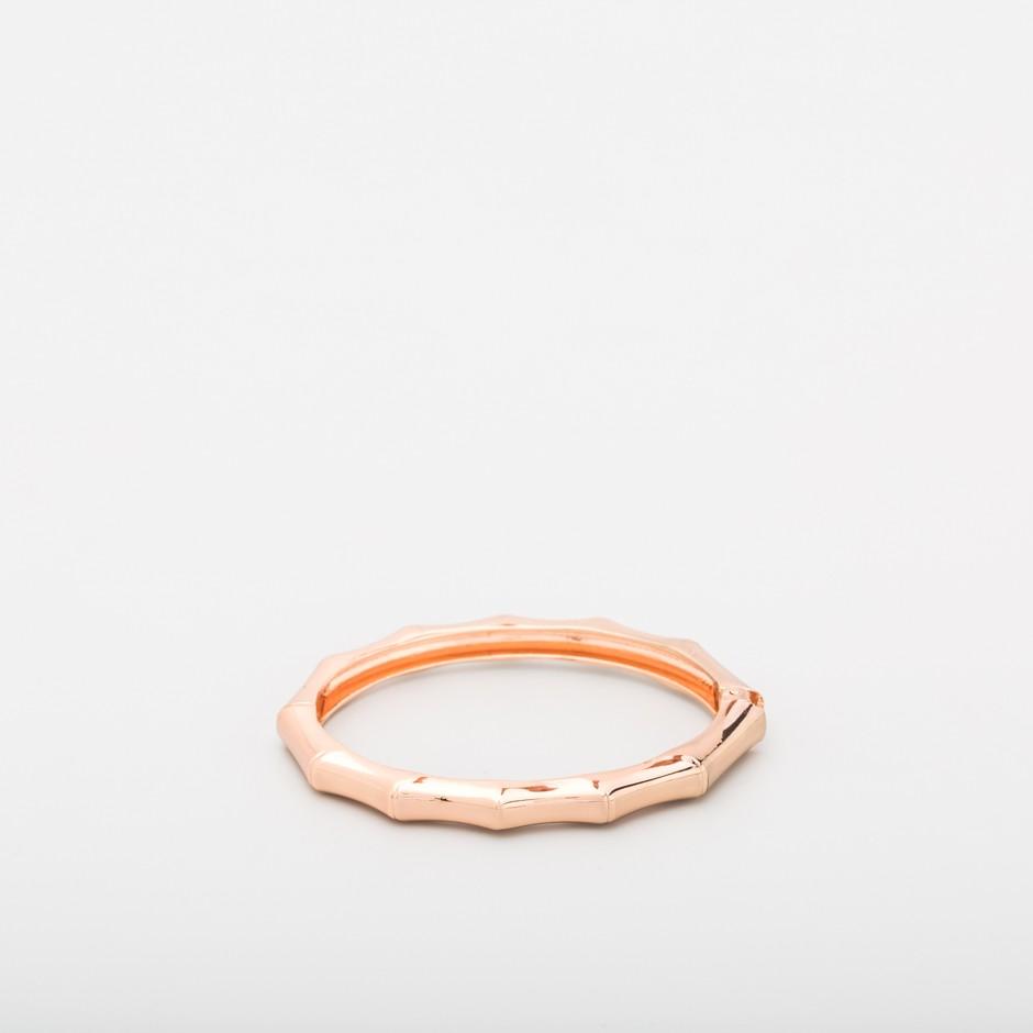 Brazalete geométrico rosado