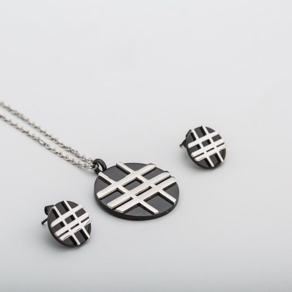 Set acero líneas
