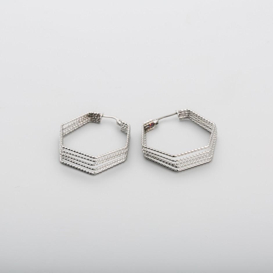 Pendiente acero hexagonal maxi