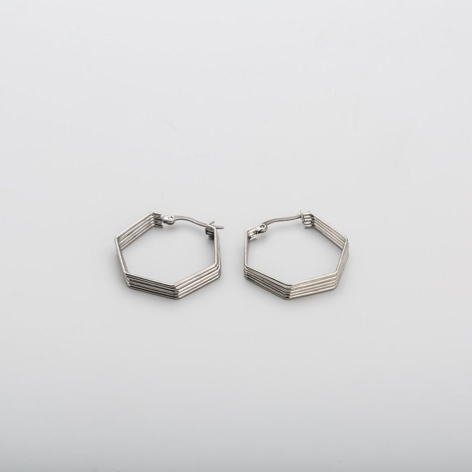 Pendiente acero hexagonal