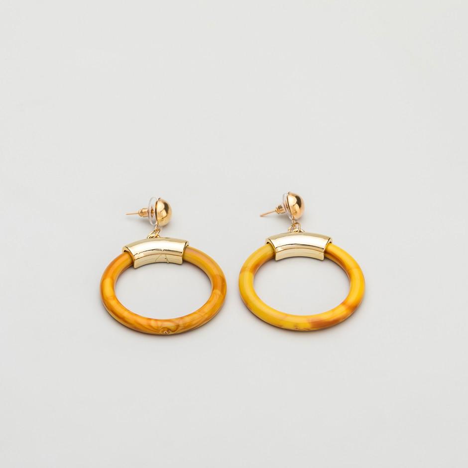 Pendiente brown ring