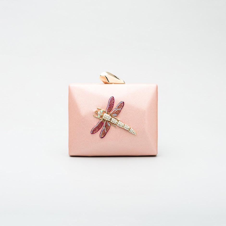 Cartera libélula pink