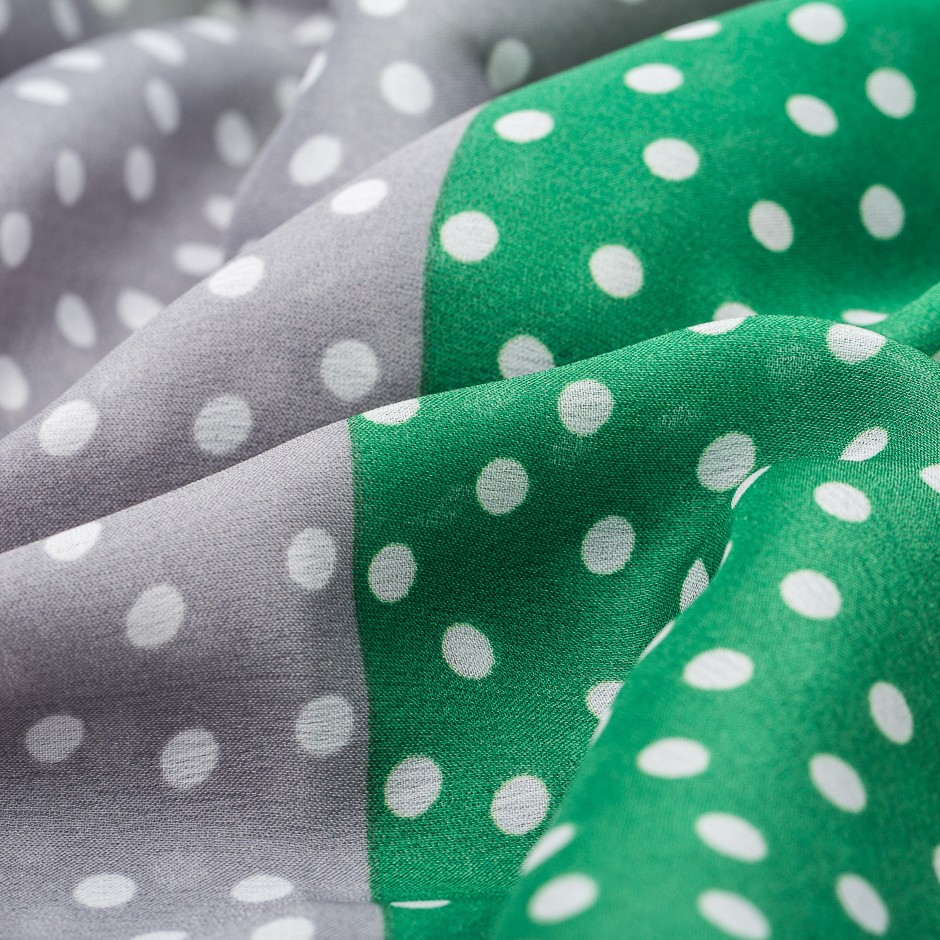 Pañuelo green dots