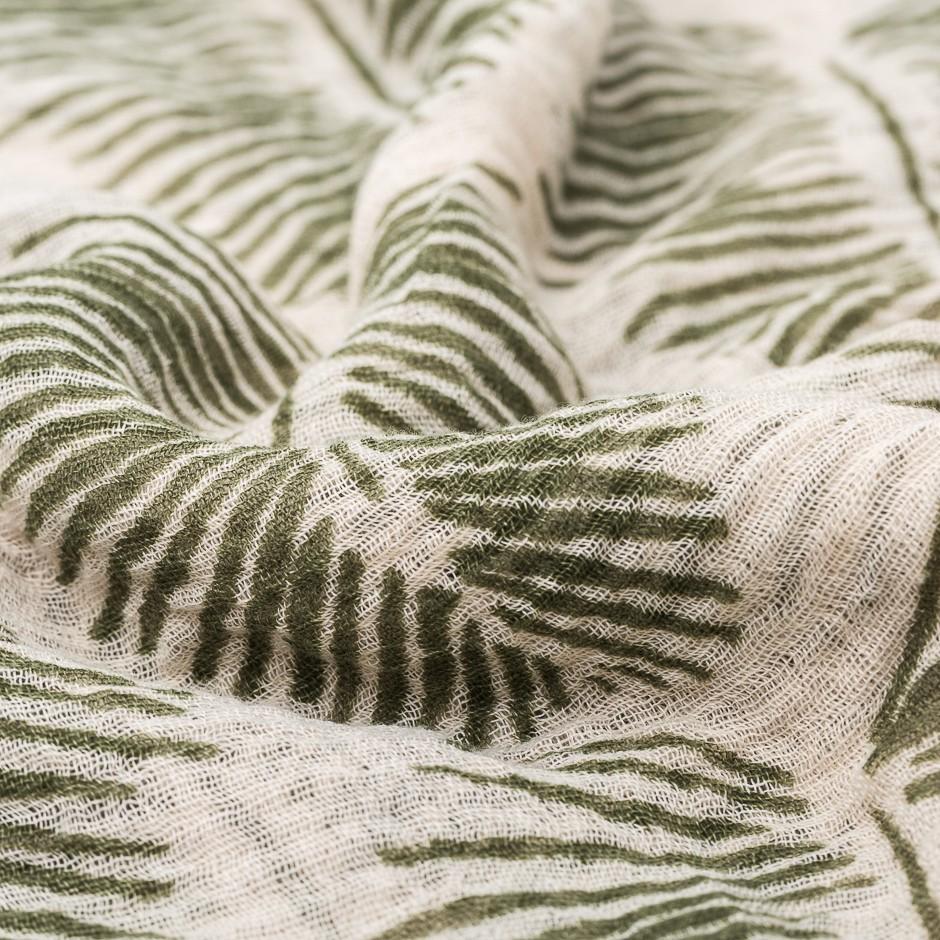 Pañuelo hojas verde