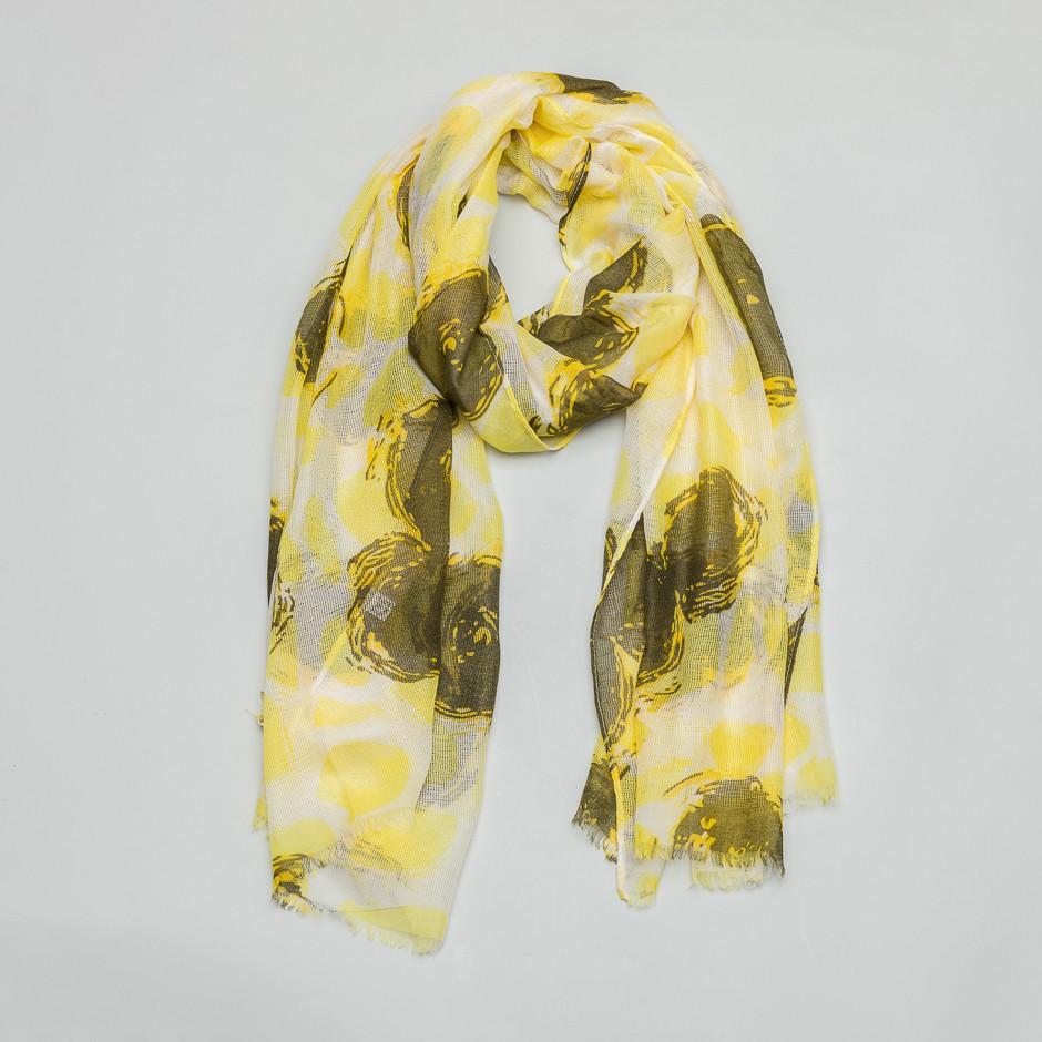 Pañuelo ovillo amarillo