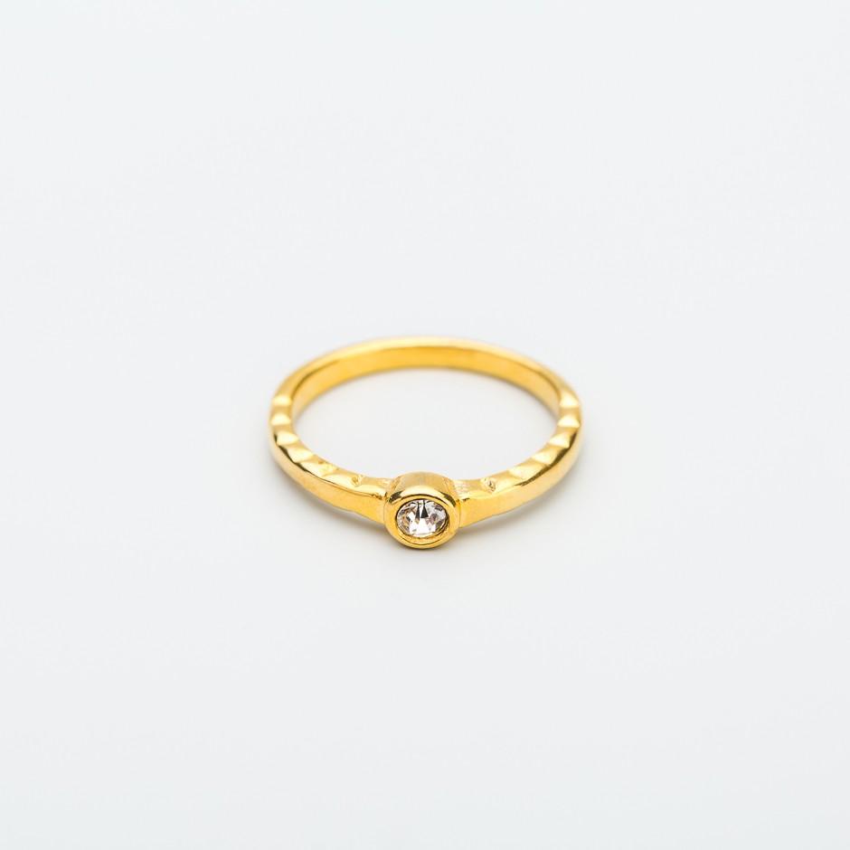 Anillo mini dorado
