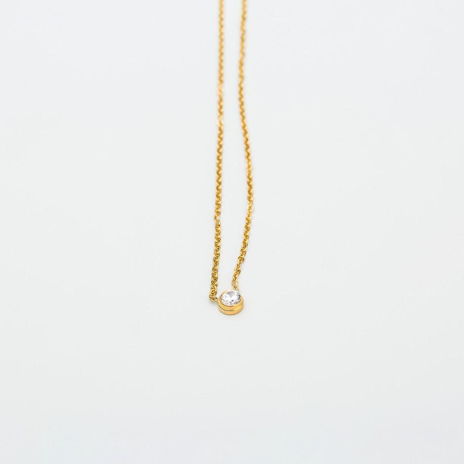 Colgante LYRIS dorado