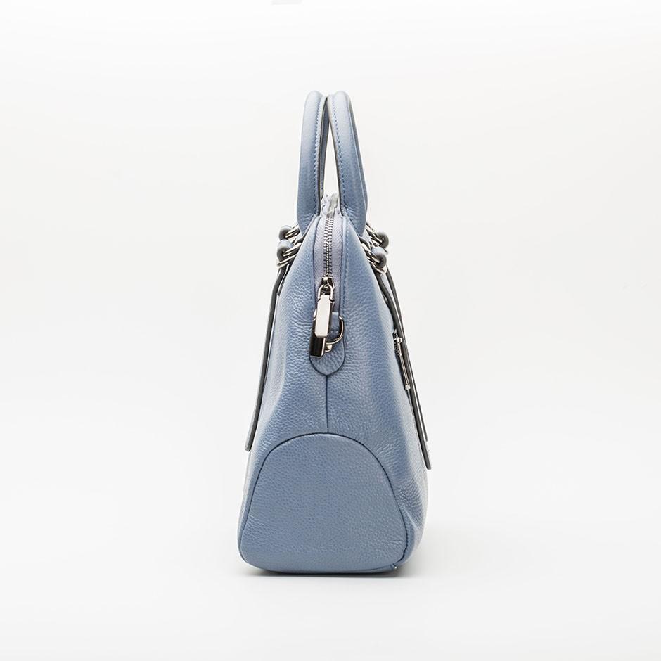 Bolso anillas azul