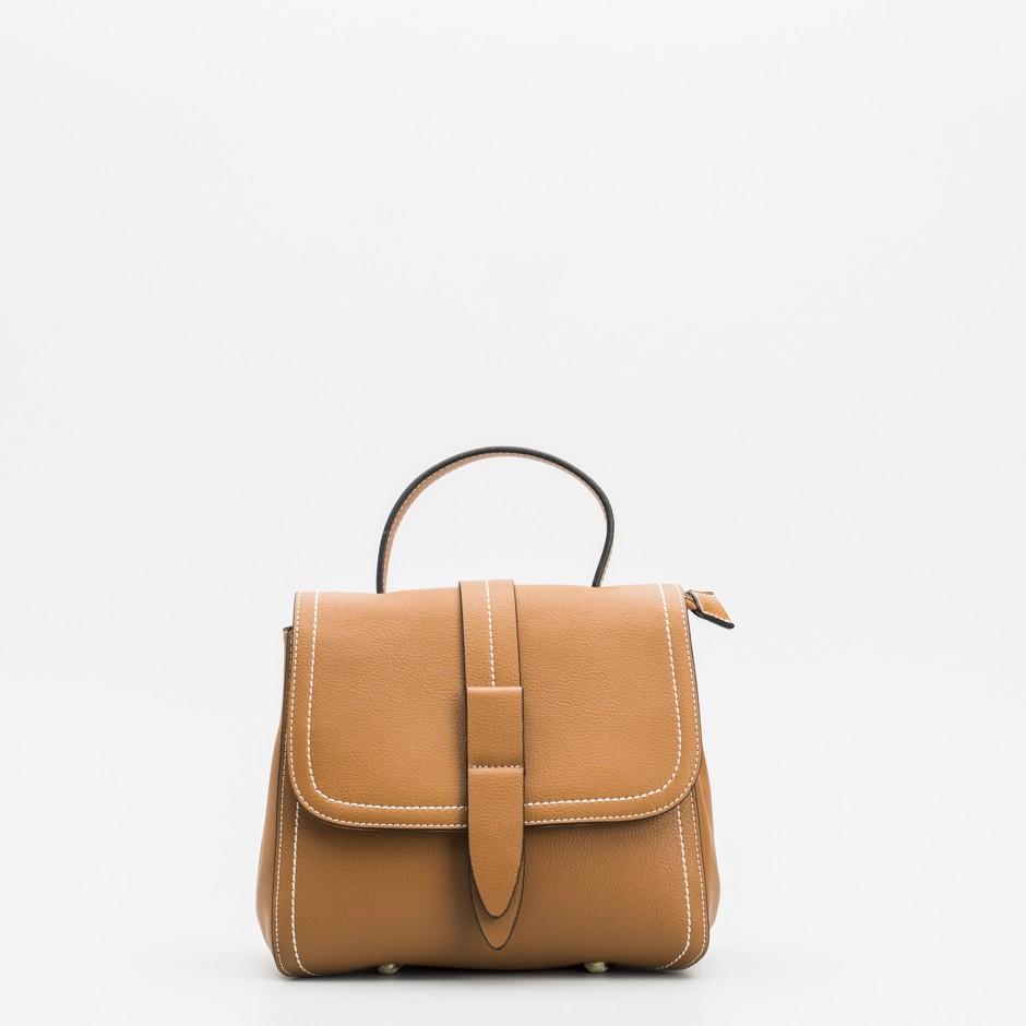 Bolso satchel cuero