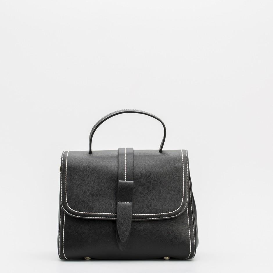 Bolso satchel mediano negro