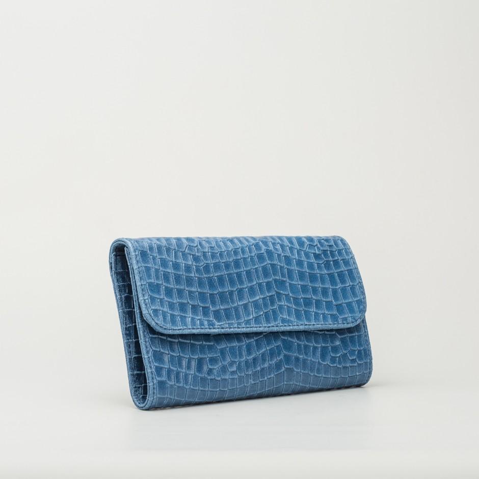 Cartera coco azul