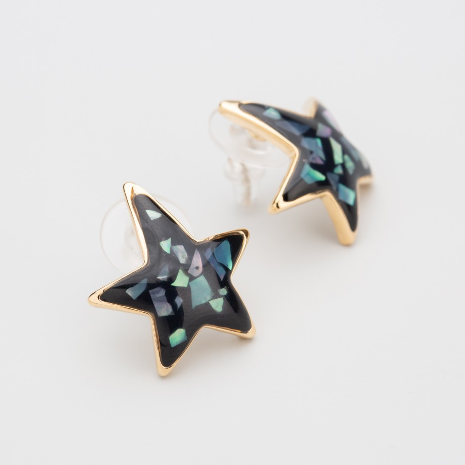 Pendiente black star