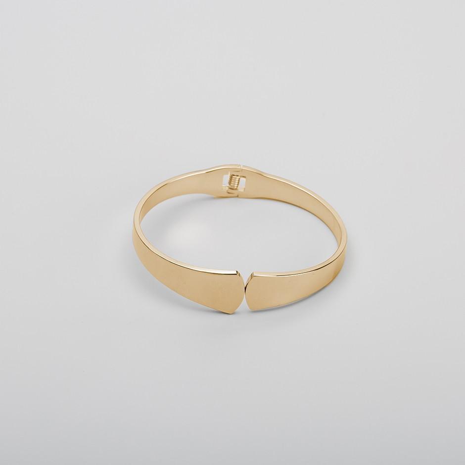 Brazalete elegance mini dorado