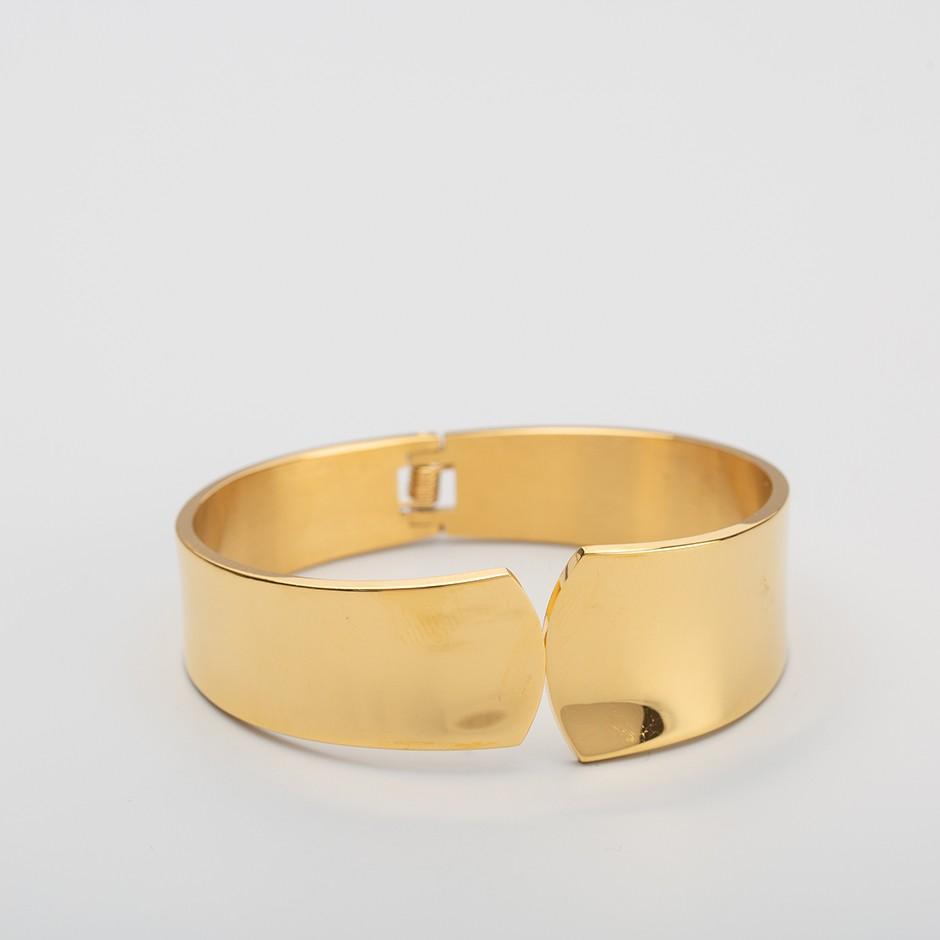 Brazalete elegance dorado