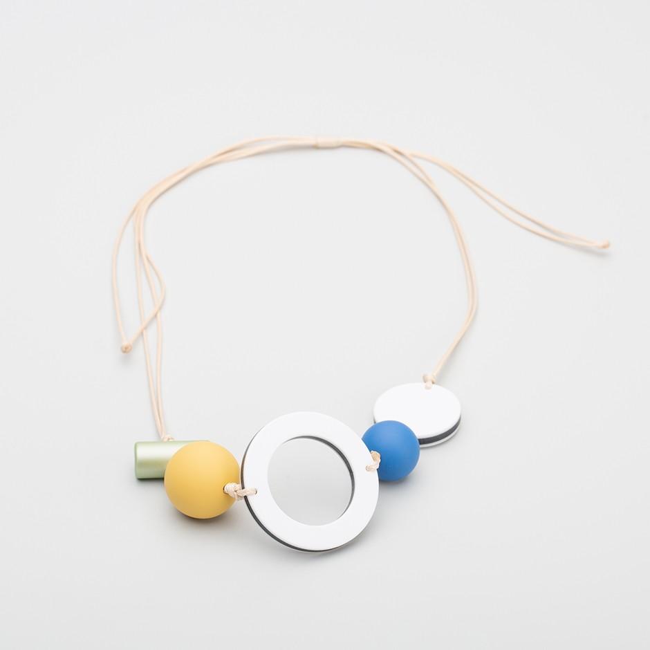 Collar happy yellow