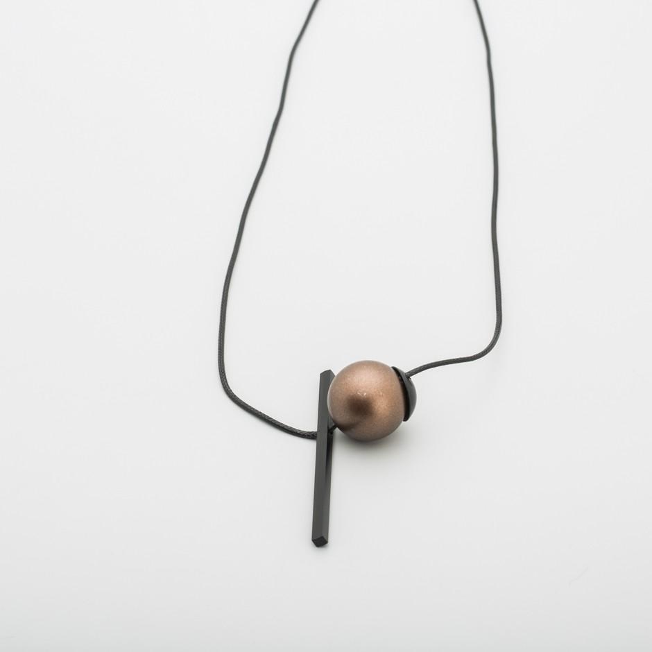 Colgante bola cobre