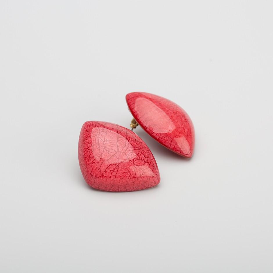Pendiente roca rojo
