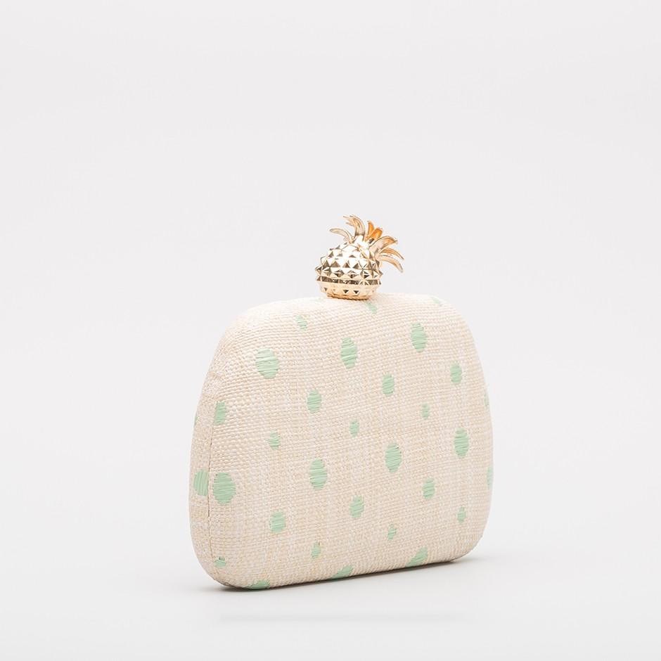 Clutch piña verde