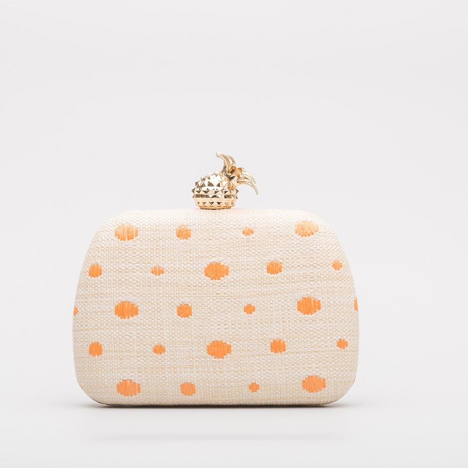 Clutch piña naranja