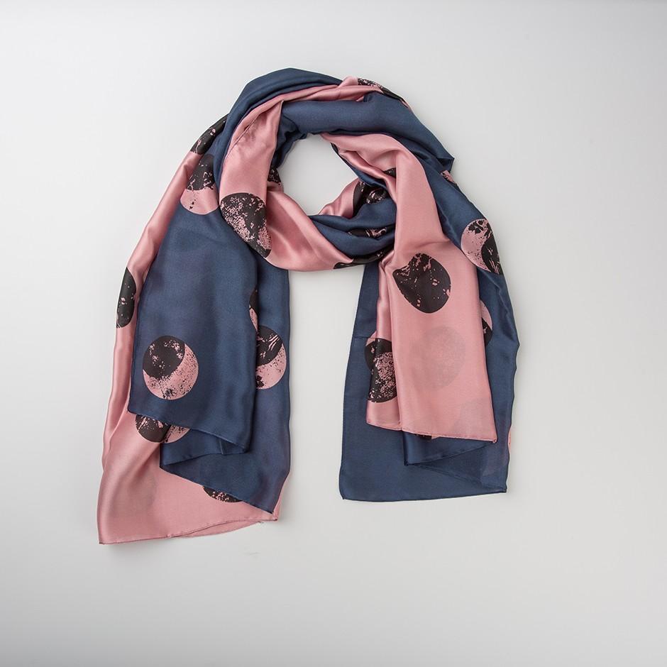 Pañuelo dúo rosa y azul
