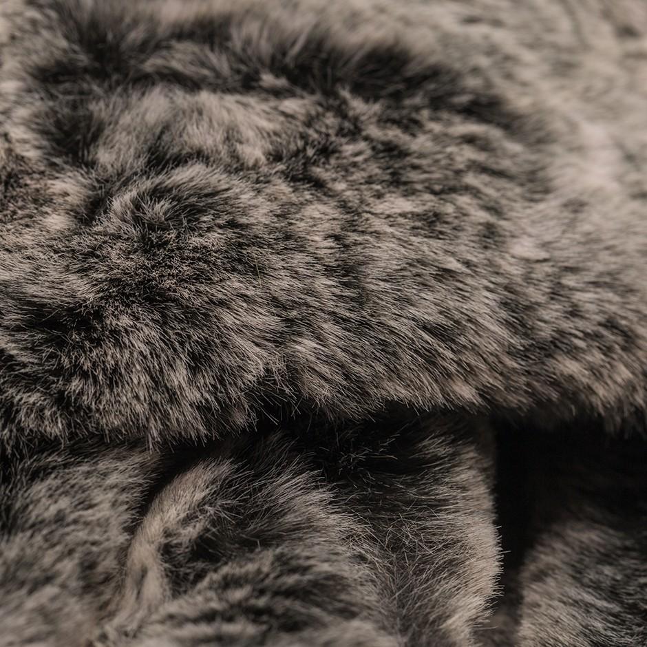 Cuello print gris