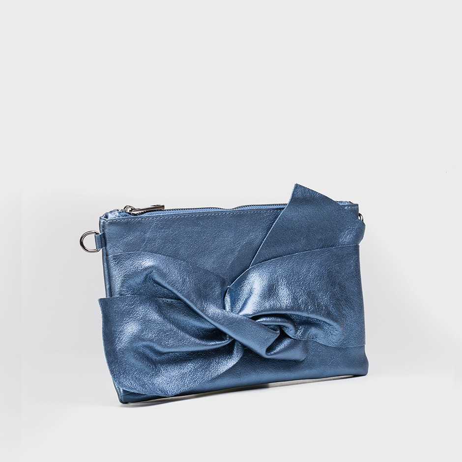 Cartera lazo blue