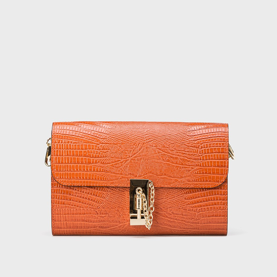 Bolso femme arancione