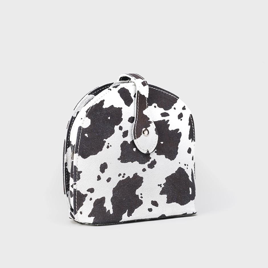 Bolso mucca blanco