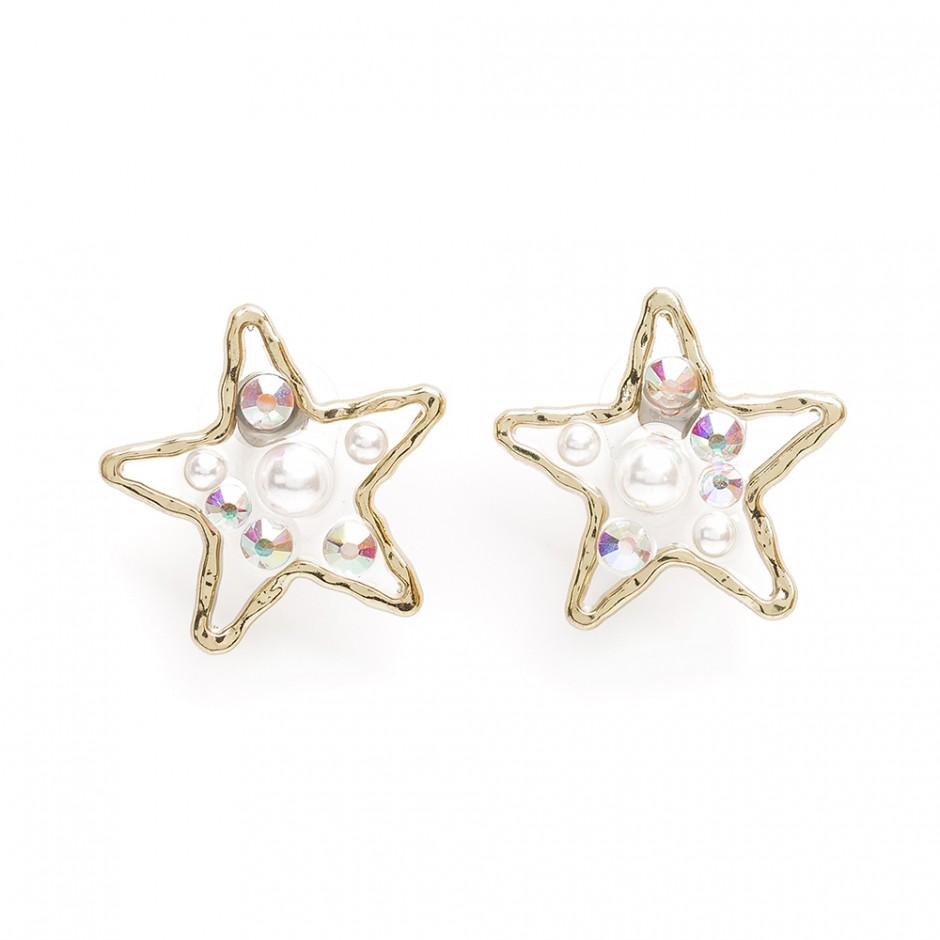 Pendiente astral estrella