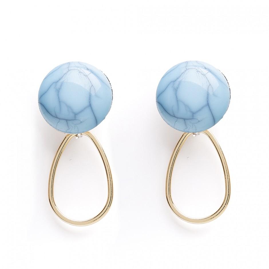 Pendiente Helen blue