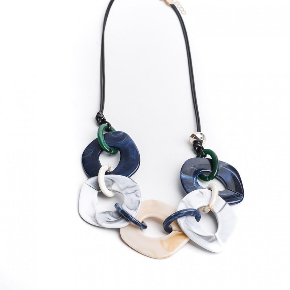 Collar Anillas marino