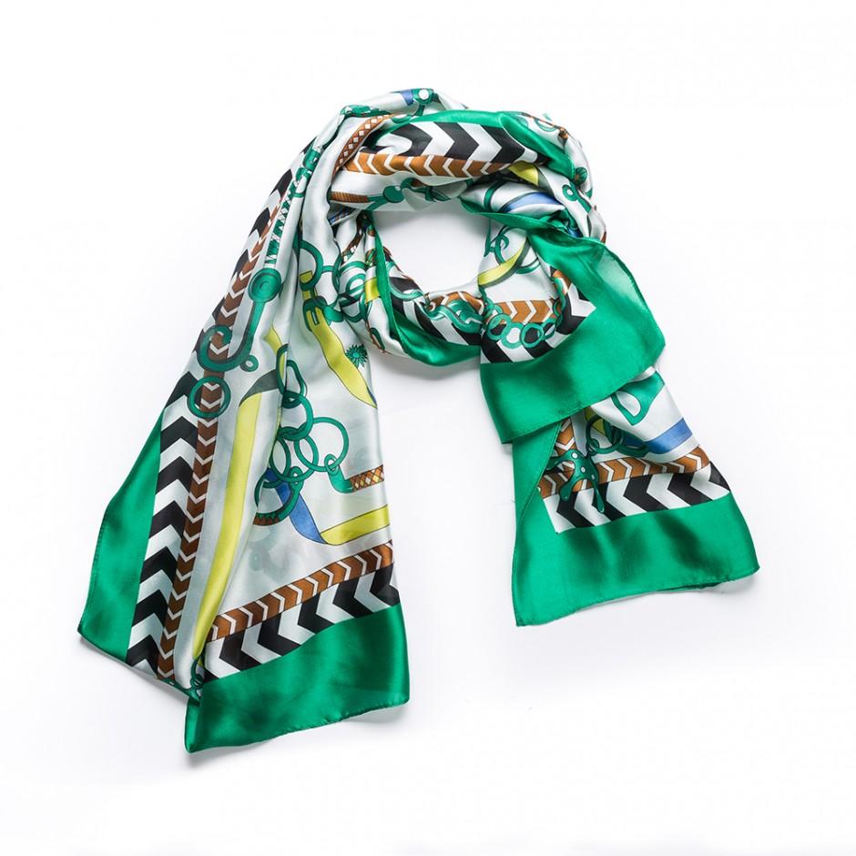 Pañuelo multi cadena verde