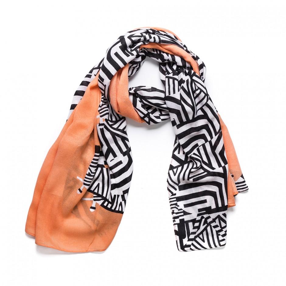 Pañuelo cebras naranja