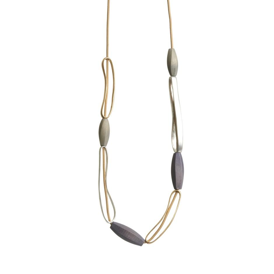 Collar soley gris