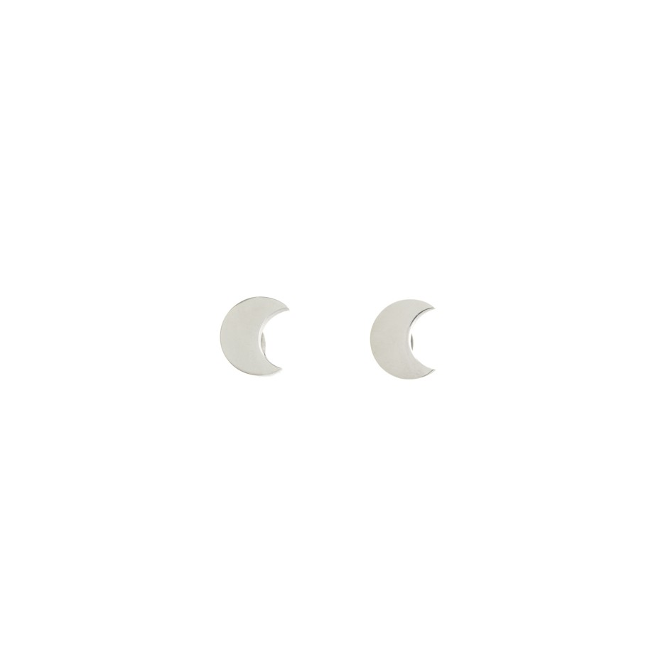 Pendiente mini luna