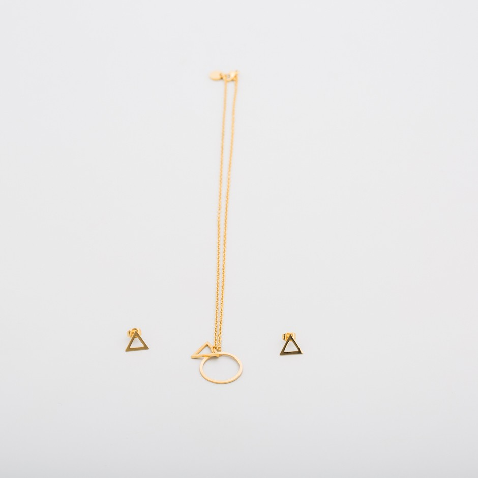 Set LEAH triángulo