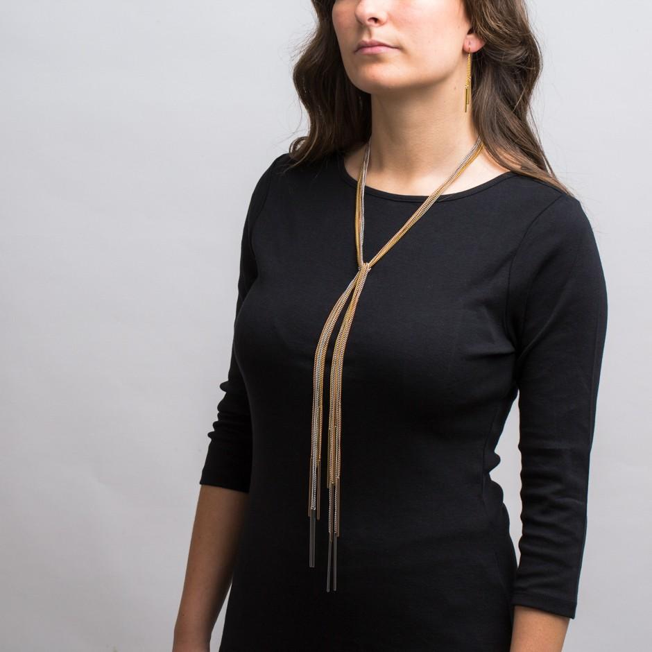 Set ALYSA corbata multi