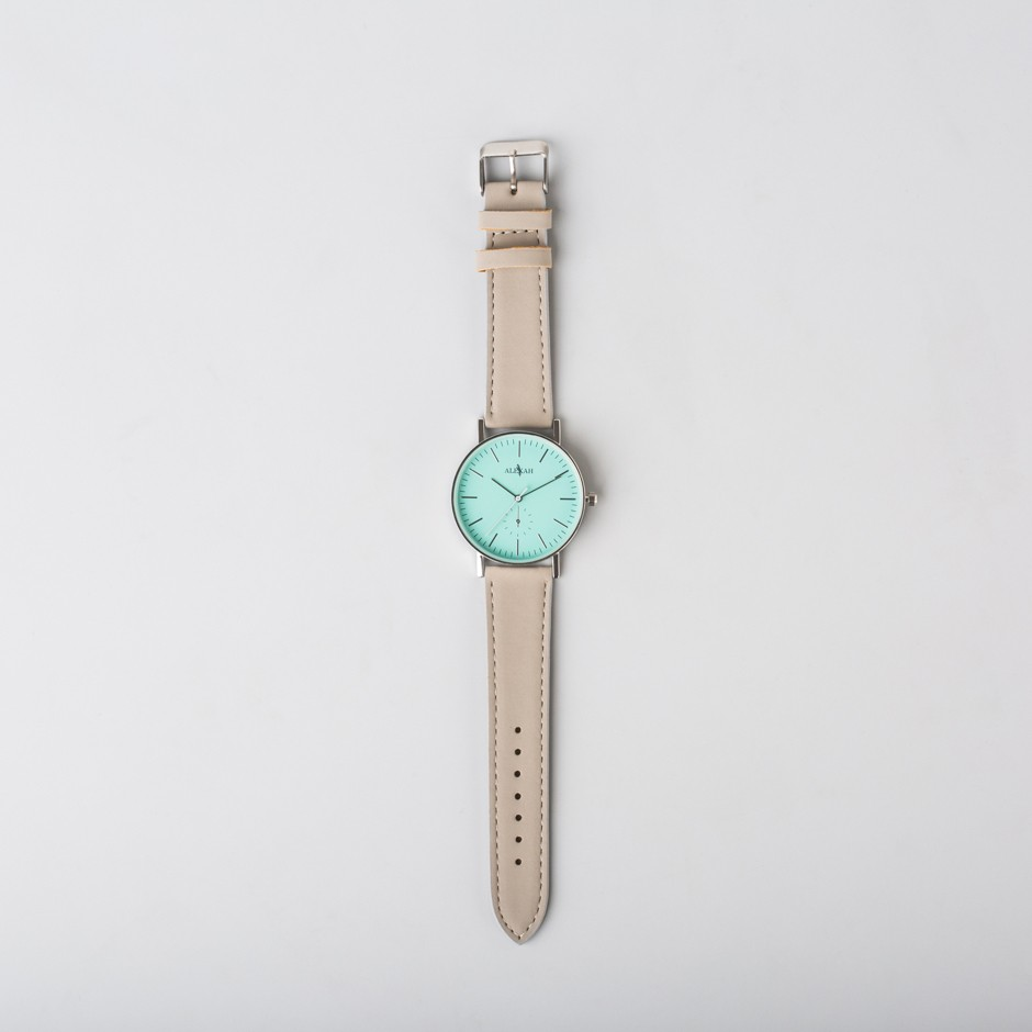 Reloj Linus verde agua
