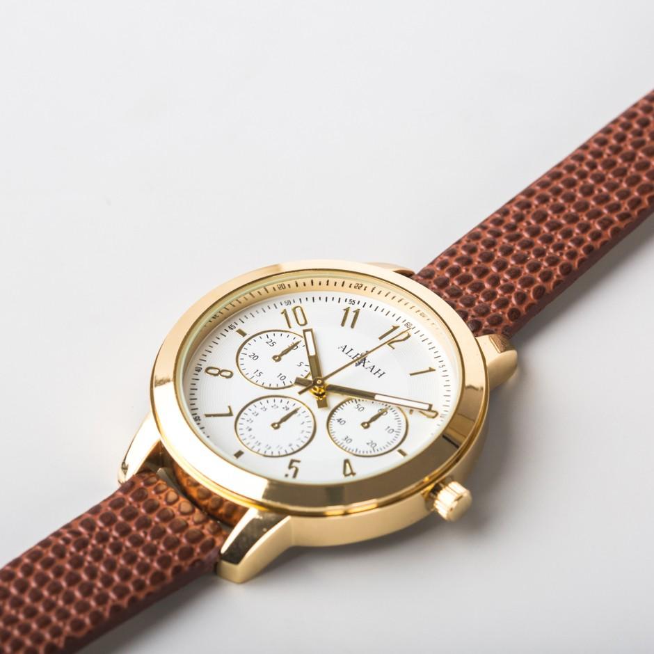 Reloj Neptune marrón
