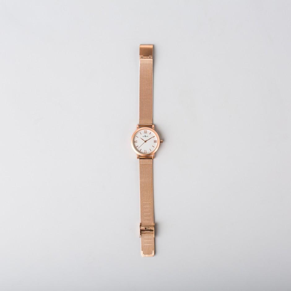 Reloj Frona dorado rosa